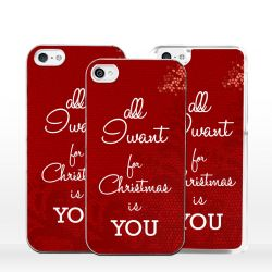 Cover all I want for Christmas is you per iPhone