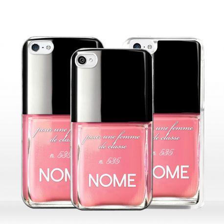 Cover smalto unghie personalizzato per iPhone