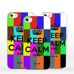 Cover Keep Calm personalizzata per iPhone