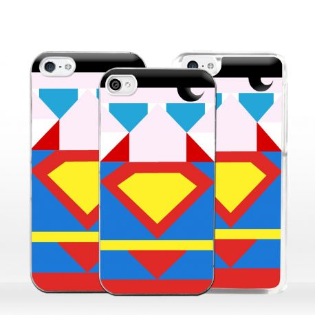Cover Superhero Acciaio per iPhone