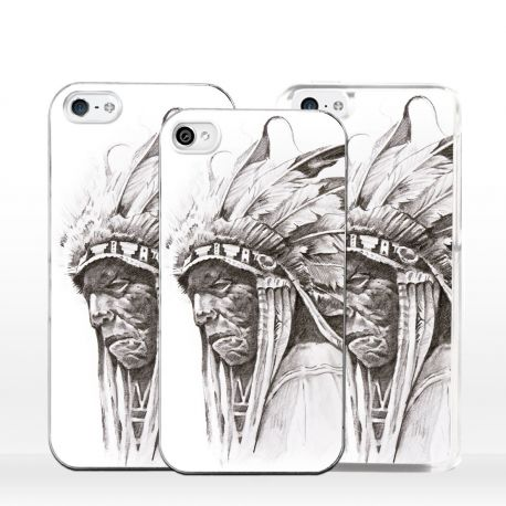 Cover per iPhone Guerriero Pellerossa Indiano Apache