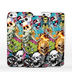 Cover per iPhone Sticker Teschio