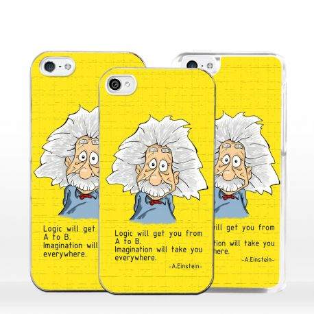 Cover per iPhone Albert Einstein