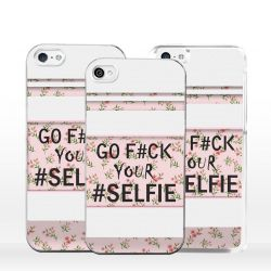 Cover per iPhone Go Fuck your Selfie