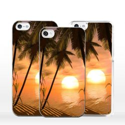 Cover per iPhone romantico tramonto