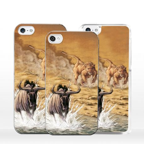 cover per iphone scena di caccia