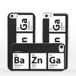 Cover per iPhone BaZnGa formula Nerd