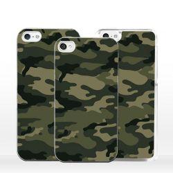 Cover per iPhone camouflage mimetico verde militare