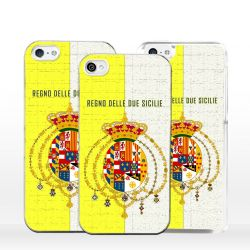 Cover per iPhone bandiera Borbonica Regno Due Sicilie