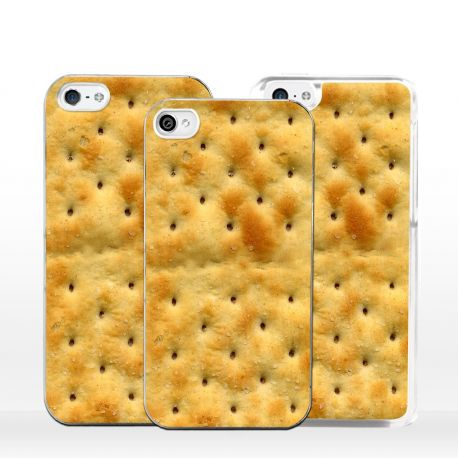 Cover per iPhone crackers biscotto