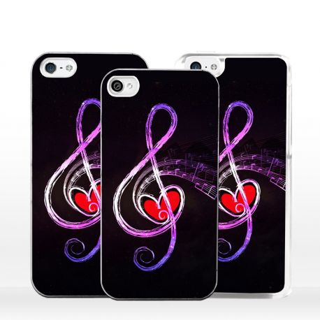 Cover per iPhone chiave di violino o di sol