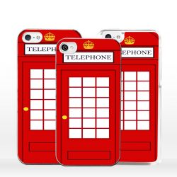 Cover per iPhone cabina telefonica inglese
