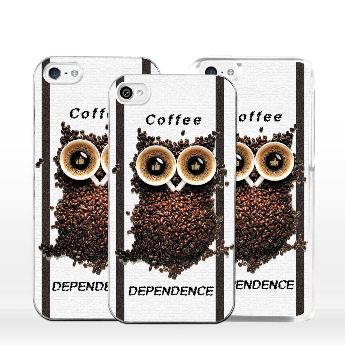 cover iphone che fa il caffe