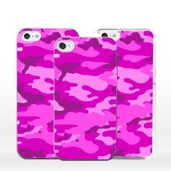 Cover per iPhone mimetico rosa militare