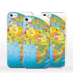 Cover per iPhone cartina geografica mappamondo