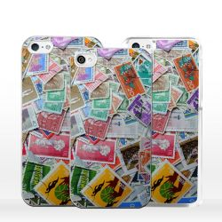 Cover per iPhone collezione francobolli