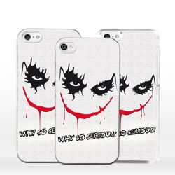 Cover per iPhone why so serious