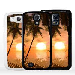 Cover per Samsung tramonto tropicale