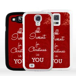 Cover all I want for Christmas is you per Samsung