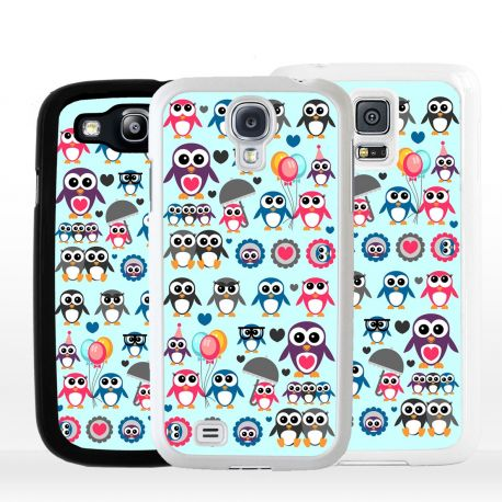 Cover per Samsung pinguini art design