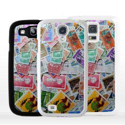 Cover per Samsung mosaico di francobolli