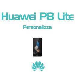 Cover Personalizzata per Huawei P8 Lite