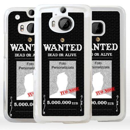 Cover Personalizzata wanted ricercato per HTC