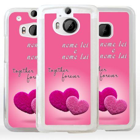 Cover Personalizzata per HTC regalo San Valentino