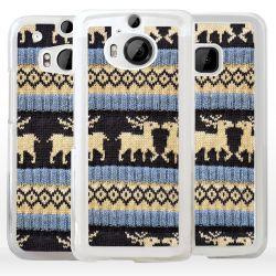Cover maglione Natalizio per smartphone HTC
