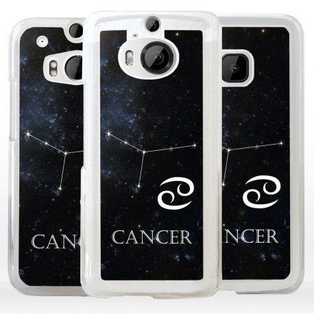 Cover Cancro segno Zodiacale per HTC