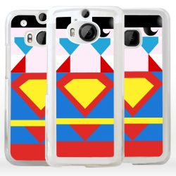 Cover Superhero Acciaio per HTC Asus Google OnePlus