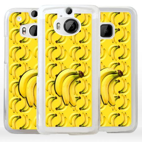 Cover con collage banane per HTC