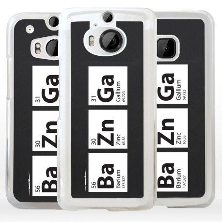 Cover formula BaZnGa Nerd per HTC