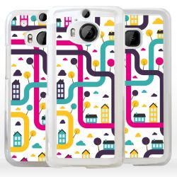 Cover città labirinto per HTC Asus Google OnePlus