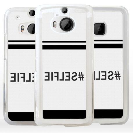 Cover Selfie scritta specchiata per HTC