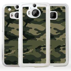 Cover camouflage mimetico verde militare per HTC Asus Google OnePlus