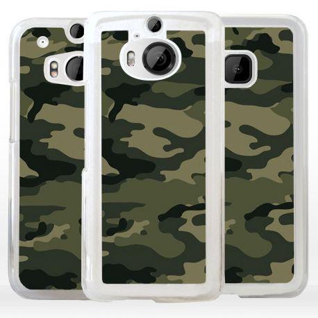 Cover camouflage mimetico verde militare per HTC