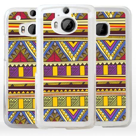 Cover etnica fantasia tribale Azteca per HTC