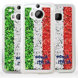 Cover tricolore bandiera Italia per HTC