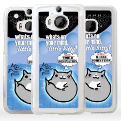 Cover disegno vignetta gattino per HTC
