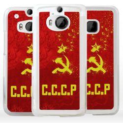 Cover bandiera URSS Unione Sovietica per HTC