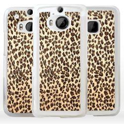 Cover maculata macchie leopardo per HTC