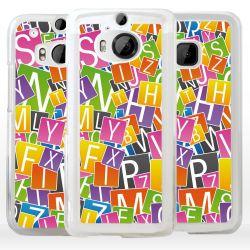 Cover per HTC lettere alfabeto