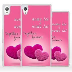 Cover Personalizzata per Sony Xperia regalo San Valentino