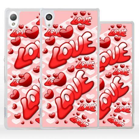 Cover regalo San Valentino per Sony Xperia