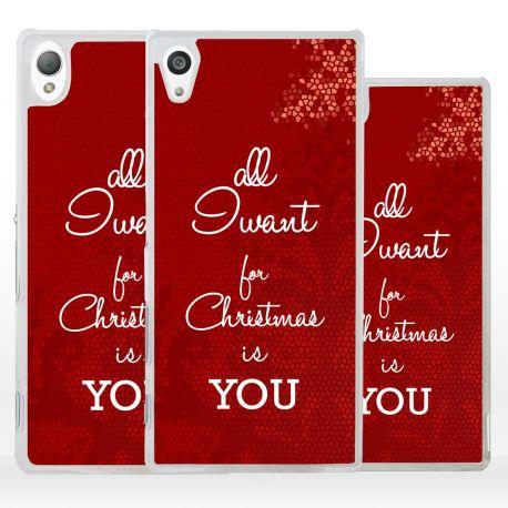 Cover regalo per Natale per Sony Xperia