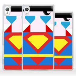 Cover Superhero Acciaio per Sony Xperia