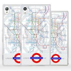 Cover mappa Metropolitana Londra per Sony Xperia