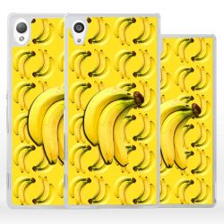 Cover con collage banane per Sony Xperia