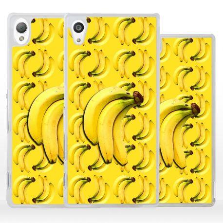 Cover con collage banane per Sony Xperia